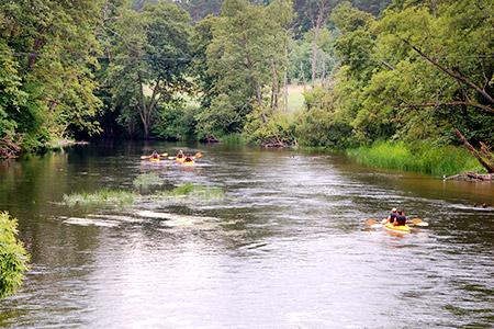 Spływ kajakowy w Borach Tucholskich - Hotel